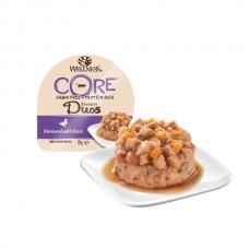 Hrana umeda pentru pisici Wellness Core Savoury Duos cu rata 79 g