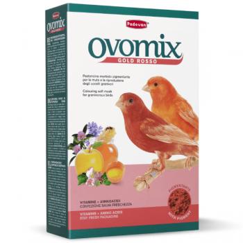 Hrana pentru pasari Ovomix Gold Rosso 300gr
