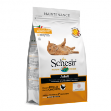 Hrana uscata pentru pisici Schesir Adult cu pui 400 g
