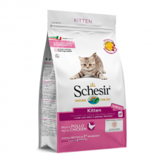 Hrana uscata pentru pisici Schesir Kitten 400 g
