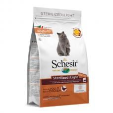 Hrana uscata pentru pisici Schesir Sterilised cu Pui 400 g