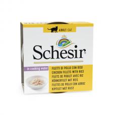 Hrana umeda pentru pisici Schesir Pui cu Orez 85gr