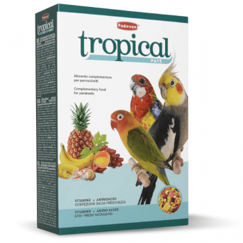 Hrana pentru Papagali Tropical Patee 700g
