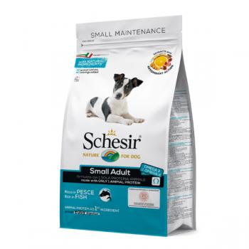 Hrana uscata pentru caini Schesir Small Adult Monoprotein cu peste 800 g