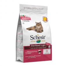 Hrana uscata pentru pisici Schesir Sterilised Monoprotein cu sunca 400 g