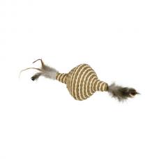 Jucarie pentru pisici Nobby Jucarie spinner pene 11 cm