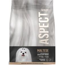 Hrana uscata pentru caini Aspect Maltese cu Pui si Orez 1 kg