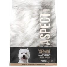 Hrana uscata pentru caini Aspect Highland White Terrier cu Pui si Orez 2,5 kg