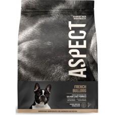 Hrana uscata pentru caini Aspect French Bulldog cu Somon si Orez 2,5 kg