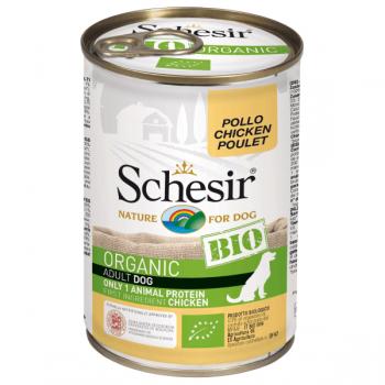 Hrana umeda pentru caini Schesir Bio Pui 400g