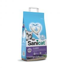 Nisip pentru litiera Sanicat Classic Lavanda 8 L