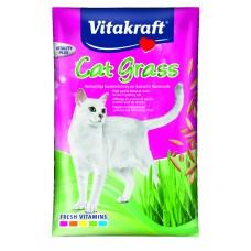 Recompensa pentru pisici Vitakraft Cat Grass 50 g