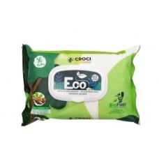 Servetele umede pentru caini si pisici C6052935 eco, biodegradabile, cu migdale si unt de shea