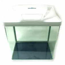 Acvariu din sticla Kingway White B-231 33X21X32 cm