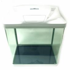 Acvariu din sticla Kingway White B-238 39X26X44.5 cm