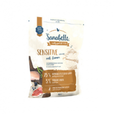 Hrana uscata pentru pisici Sanabelle Sensitive cu miel 400 g