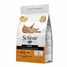 Hrana uscata pentru pisici Schesir Adult cu pui 10 kg