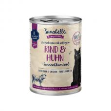 Hrana umeda Sanabelle cu Vita si Pui 400 gr
