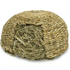 Igloo cu iarba pentru rozatoare Jr Farm Medium 360 g