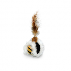 Jucarie pentru pisici Nobby Bila pene 5 cm