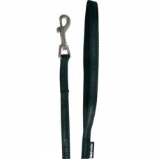 Lesa neagra pentru caini Macleather 15mm/1.2m