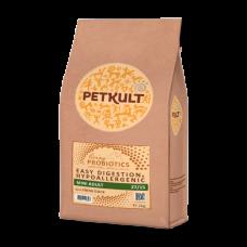 Hrana uscata pentru caini Petkult Probiotics Mini Adult cu rata si orez 2 kg