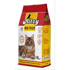 Hrana uscata pentru pisici Mitzy Mix Plus 10 kg