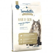 Hrana uscata pentru pisici Sanabelle Hair and Skin 10 kg
