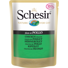 Hrana umeda pentru pisici Schesir cu pui file 100 g
