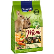 Hrana pentru iepuri Vitakraft Premium Menu 1kg