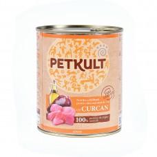 Hrana umeda pentru caini Petkult Adult cu curcan 800 g