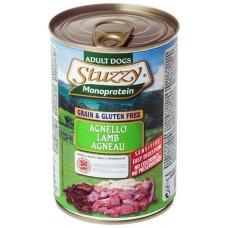 Hrana umeda pentru caini Stuzzy Monoprotein cu miel 400g