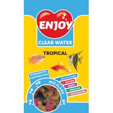 Hrana pentru Pesti Enjoy Tropical Mix Flake 250ml