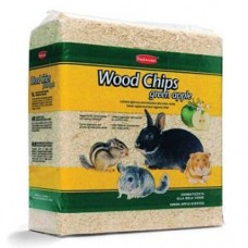 Talas cu mar verde pentru rozatoare Padovan Wood Chips 1 kg
