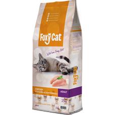 Hrana uscata pentru pisici Foxy Cat Sterilizat cu pui 15 kg