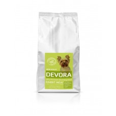 Hrana uscata pentru caini Devora Grain Free Mini Adult cu iepure 4 kg