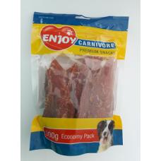 Recompense pentru caini Enjoy Carnivore cu piept de pui 300 g
