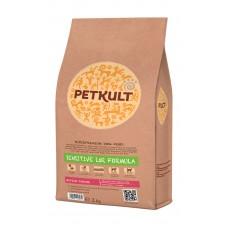 Hrana uscata pentru caini Petkult Sensitive Medium Junior cu miel si orez 2 kg