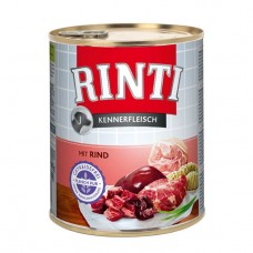 Hrana umeda pentru caini Rinti Adult cu vita 800 g