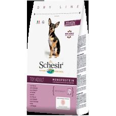 Hrana uscata pentru caini Schesir Toy Adult Monoprotein cu pui 800 g