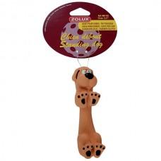 Jucarie pentru caini Zolux Standing Dog din latex 13 cm