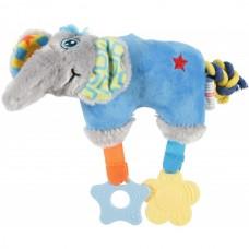 Jucarie pentru caini Plus Elefant Bleu