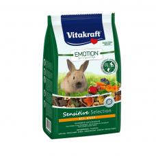 Hrana pentru iepuri Vitakraft Emotion Sensitive 600G