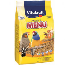Hrana pentru pasari exotice Vitakraft Premium Menu 500G