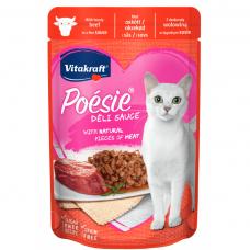 Hrana umeda pentru pisici Vitakraft Plic Vita in sos 85 g