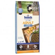 Hrana uscata pentru caini Bosch Adult cu peste si cartofi 15 kg