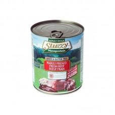 Hrana umeda pentru caini Stuzzy Monoprotein cu vita 400 g