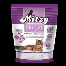 Nisip pentru litiera cu lavanda Mitzy 3.8 L
