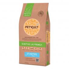 Hrana uscata pentru caini Petkult Sensitive Starter cu miel si orez 12 kg