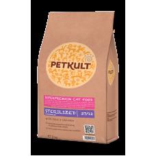 Hrana uscata pentru pisici Petkult Sterilised 2 kg